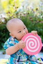 Lovely baby innocent and chinese Stock Photo