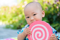 Lovely baby innocent and chinese Stock Photos