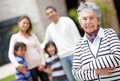 Lovely grandmother Stock Photos