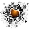 Lovely heart for valentine's day Royalty Free Stock Photography