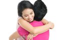 Lovely hug Stock Photo