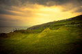 Lovely landscape of ireland dingle countryside Royalty Free Stock Image