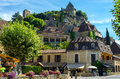 Lovely medieval village of Beynac, Dordogne, France Royalty Free Stock Photo