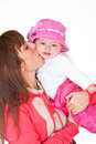 Lovely mother and baby Royalty Free Stock Photos