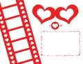 Lovely Movie PhotoFrame Stock Photos