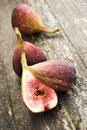 Lovely ripe figs Stock Images