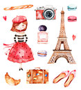 Lovely summer collection with Eiffel tower