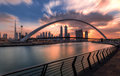Dubai Water Canal Royalty Free Stock Photo