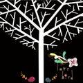 Lovely tree design Royalty Free Stock Image