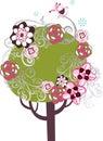 Lovely tree design Stock Photo