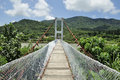 Lover s bridge in kenting of taiwan Royalty Free Stock Photo