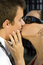 Lover's Kiss Royalty Free Stock Photos