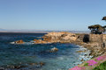 Lover's Point at Pacific Grove, California. Royalty Free Stock Photo