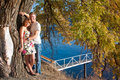 Lovers point Stock Photos