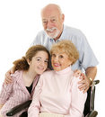 Loving Grandparents Stock Photography