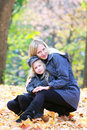 Loving mother and daughter Stock Images