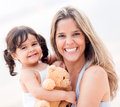 Loving mother with her child Stock Images