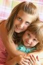 Loving Sisters Royalty Free Stock Photos