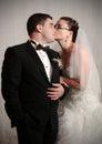 Loving wedding couple Royalty Free Stock Photo