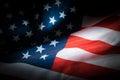 Low key USA flag