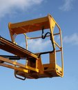 Low Level Cherry Picker. Stock Photo