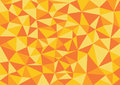Low poly style vector, orange low poly design, low poly style illustration, Abstract low poly background vector,