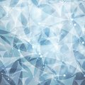 Low poly tech background vector design Royalty Free Stock Photo