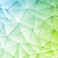 Low poly tech brochure elements design Royalty Free Stock Photo