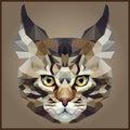 Low polygonal Cat