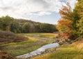 Low Reservoir In Fall