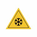 Low temperature or freezing condition sign vector design