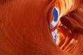 Lower antelope canyon arizona usa Royalty Free Stock Photos