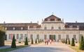 Lower belvedere palace vienna austria view of Stock Photos