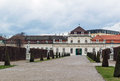 Lower belvedere palace vienna building was completed in the year in austria Royalty Free Stock Photos