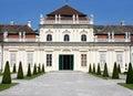 The Lower Belvedere, Vienna, Austria Stock Image