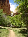 Lower Calf Creek Falls Royalty Free Stock Images