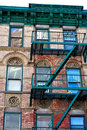 Lower East Side Building Royalty Free Stock Photo