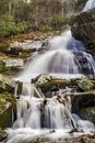 Lower Falls of Apple Orchard Falls Royalty Free Stock Photo