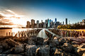 Lower manhattan new york city Stock Photography