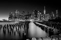 Lower Manhattan Skyline,NYC Royalty Free Stock Photo