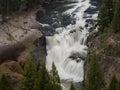 Lower Mesa Falls Royalty Free Stock Photo