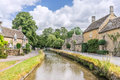 Lower Slaughter Royalty Free Stock Photo
