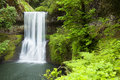 Lower South Falls, Silver Falls State Park, Oregon, USA Royalty Free Stock Photo
