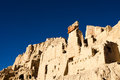 Lower view of guge ruins in tibet Stock Images