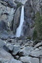Lower Yosemite Falls Royalty Free Stock Image