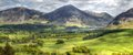 Loweswater in cumbria crummock water viewed from Royalty Free Stock Image