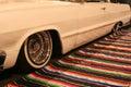 Lowrider car Royalty Free Stock Photo