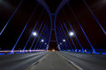 Lowry avenue bridge minneapolis minnesota at night time Stock Photos