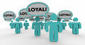 Loyal Return Customers Audience Speech Bubble People 3d Illustra Royalty Free Stock Photo