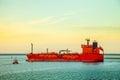 LPG Tanker ship at sea